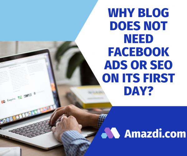 Why blog does not need Facebook ads or SEO on its first day?